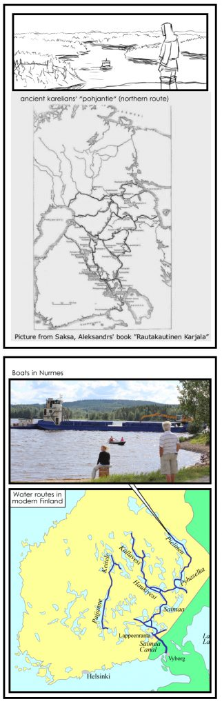 old new waterroutes