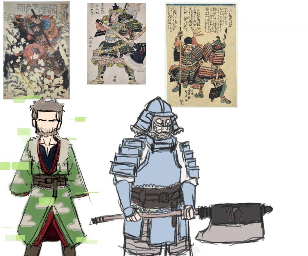 samurai axe