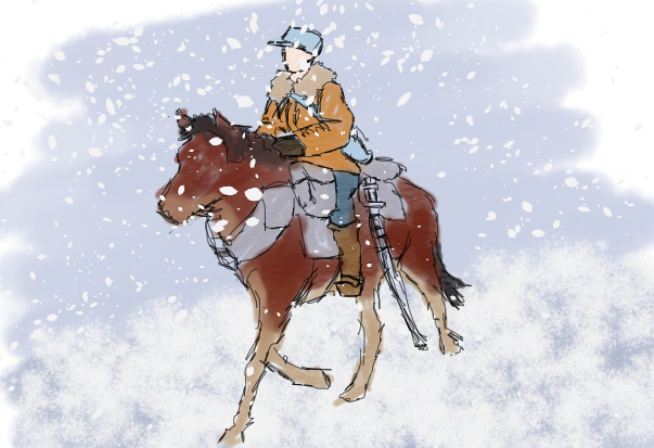 Cavalry_and_skier