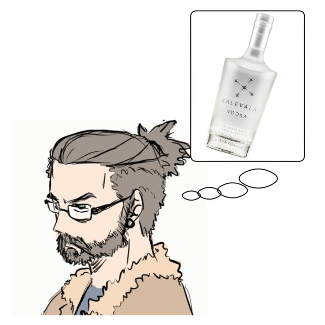 vodkaa